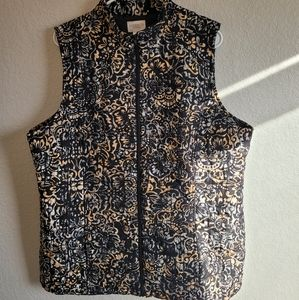Chico's Quilted Outdoor Vest